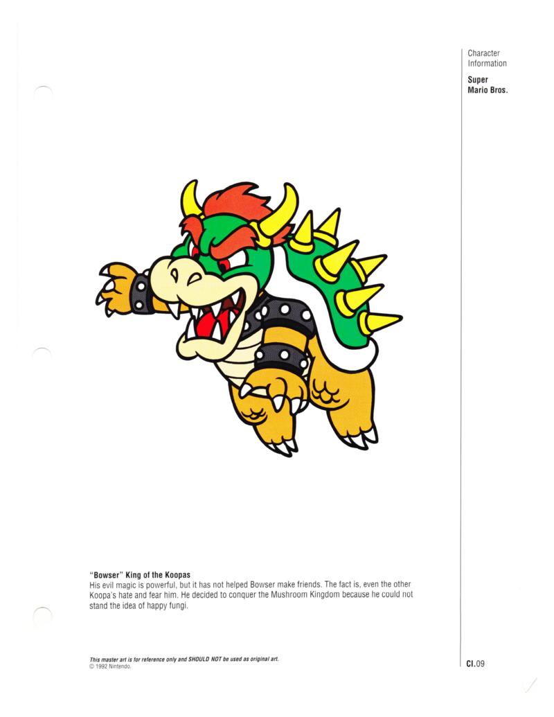 Nintendo Character Guide (1993)_GreenExcerpts-10