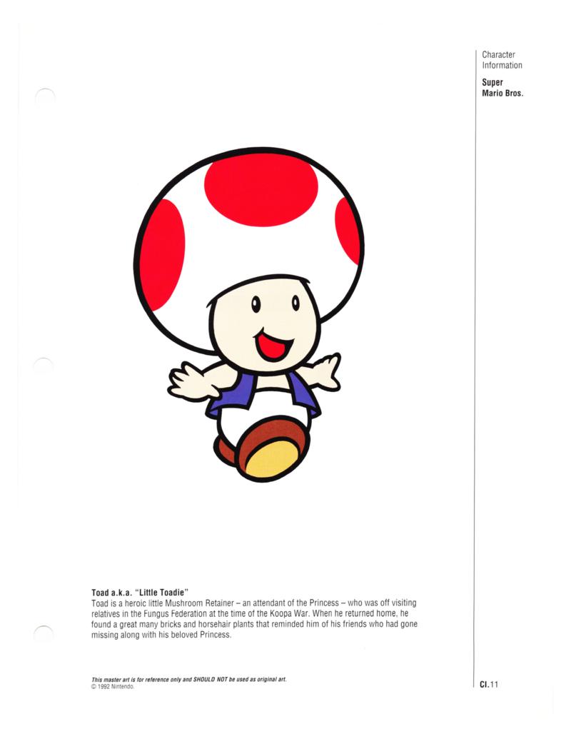 Nintendo Character Guide (1993)_GreenExcerpts-12