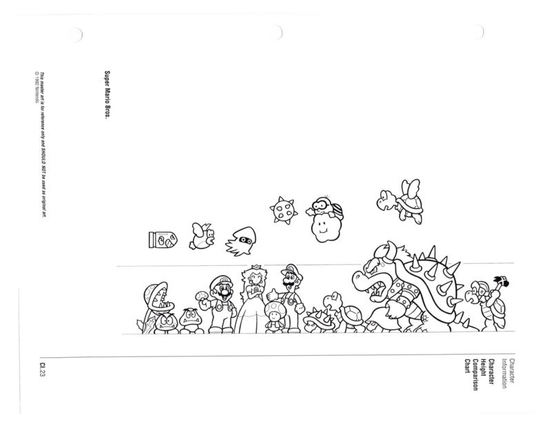 Nintendo Character Guide (1993)_GreenExcerpts-16