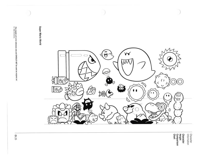 Nintendo Character Guide (1993)_GreenExcerpts-18