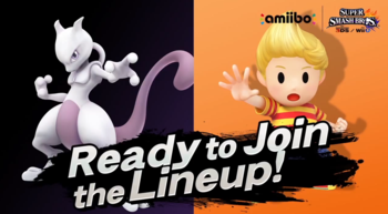 Mewtwo and Lucas