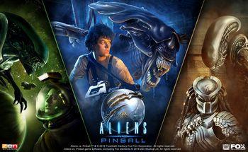 Aliens vs Pinball