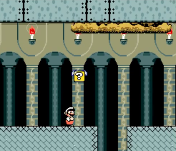 Super Mario World on MSX