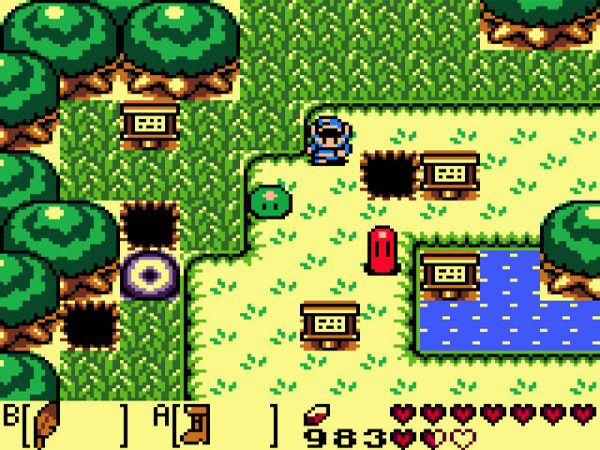 Press The Buttons How Did Zelda Link S Awakening Do That