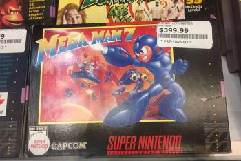 Mega Man for four hundred damned dollars