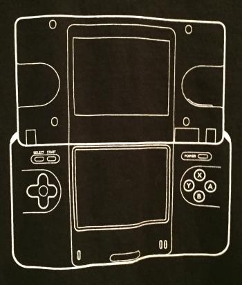 Nintendo DS shirt
