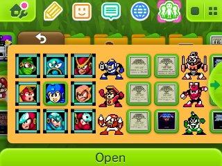 Matt's Nintendo 3DS screen