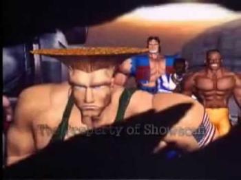 Street Fighter II Ride