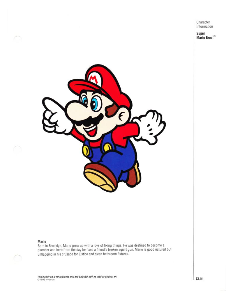 Nintendo Character Guide (1993)_GreenExcerpts-04