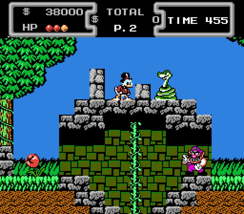 Wario Ducktales