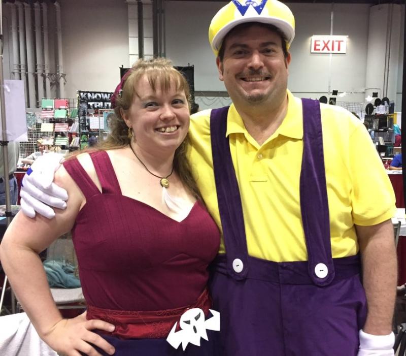 Megacon Wario and Syrup costumes
