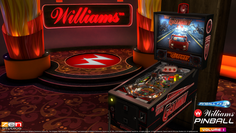 Williams on Pinball FX3