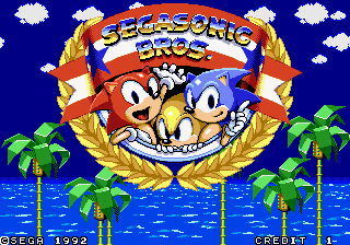 SegaSonic Bros.