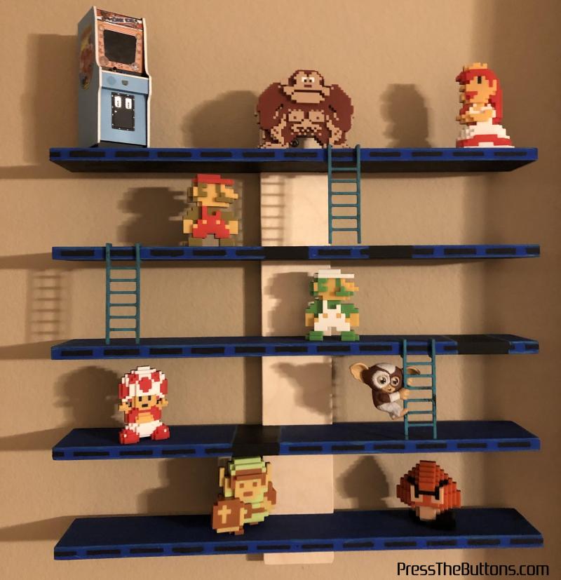 Donkey Kong shelf