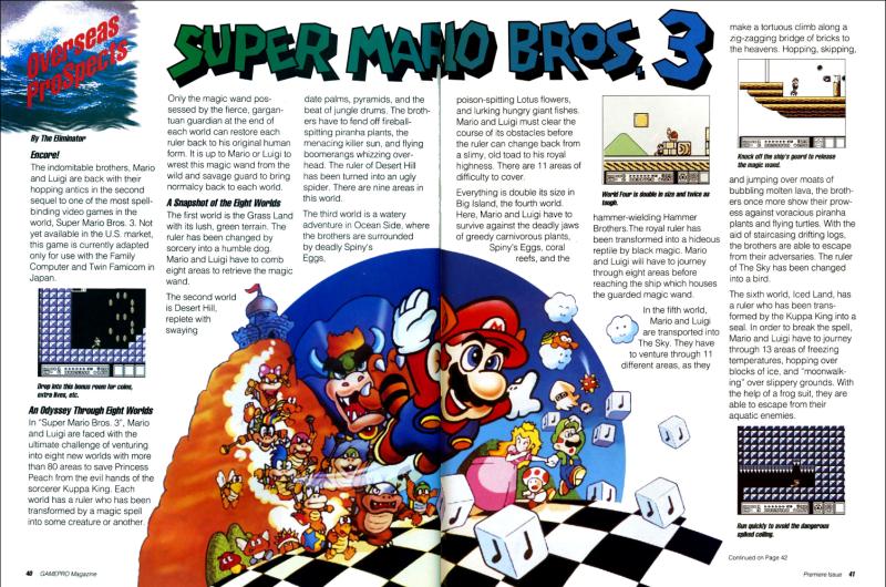 Press The Buttons Secret Origins Super Mario Bros 3