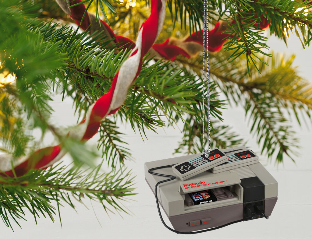 Press The Buttons: 2020 Nintendo Hallmark Ornaments Revealed
