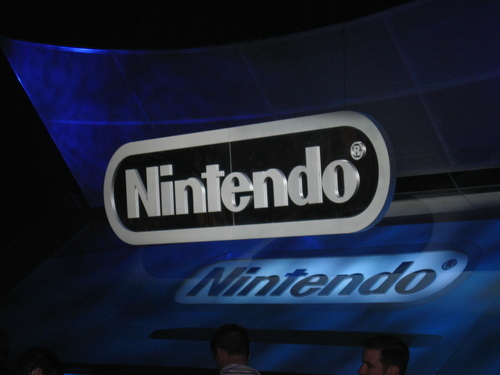 The Nintendo Media Briefing stage