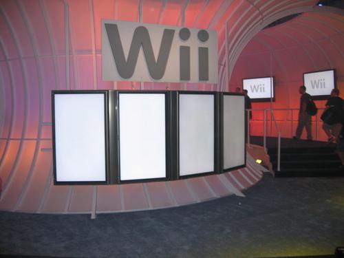 Nintendo's Wii pavillion