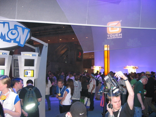 Touch Generations DS mini booth