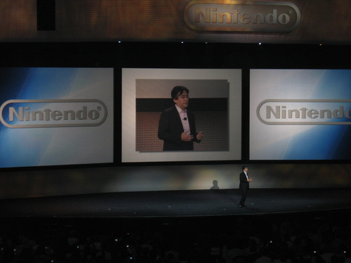 Iwata Appears