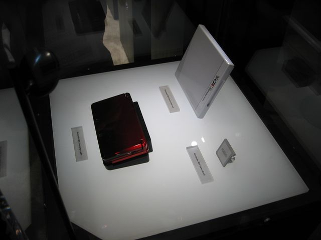 Nintendo 3DS Under Glass