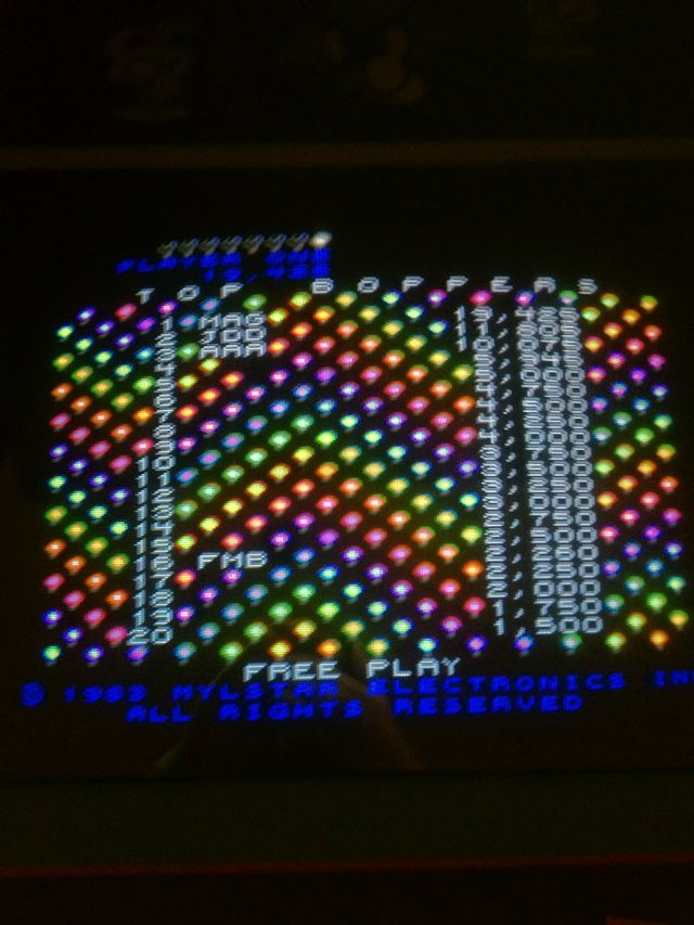 Matt's High Score In Screw Loose