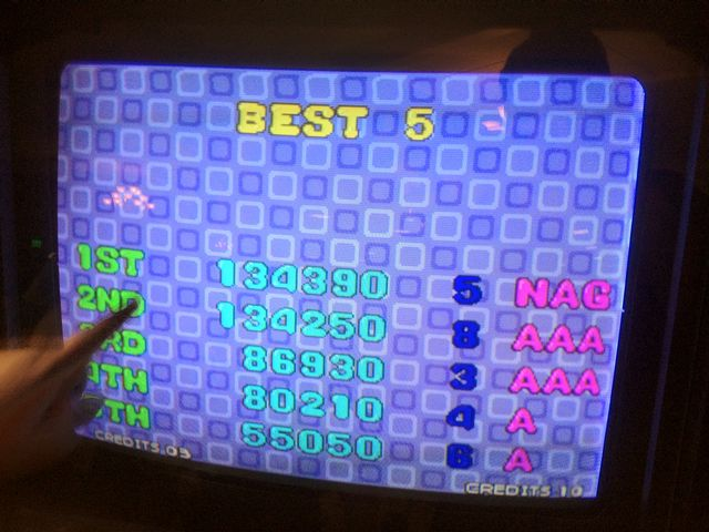 Bust A Move High Scores