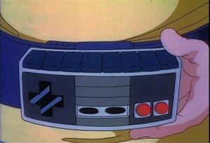 NES controller belt buckle