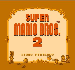 Super Mario Bros. 2 prototype