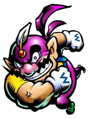 Wario as The Purple Wind