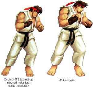 Ryu in HD