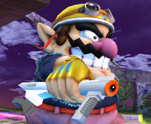 Wario has a Super Scope