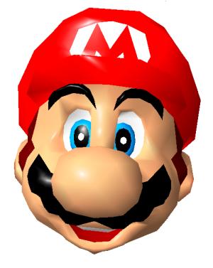 Mario's face