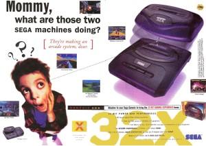 Sega 32X ad
