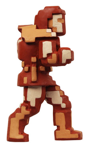 'Pixel' Simon Mini Figure