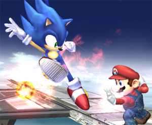 Sonic the Hedgehog has been announced as a playable character in Nintendo's upcoming Super Smash Bros. Brawl