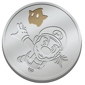 Super Mario Galaxy special preorder bonus coin