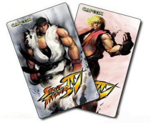 Street Fighter IV cards