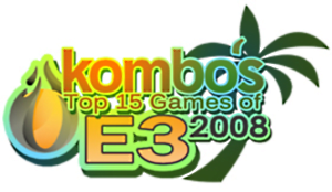 Kombo's Top 15 Games of E3 2008