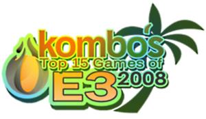 Kombo's Top 15 Games of E3 2008