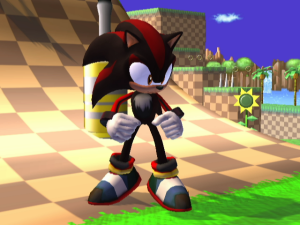 Shadow the Hedgehog in Super Smash Bros. Brawl