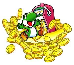 Yoshi's coins