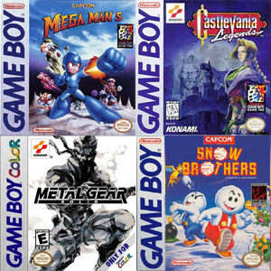 Rare Game Boy games