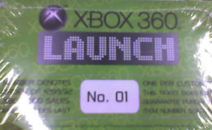 Xbox 360 Golden Ticket