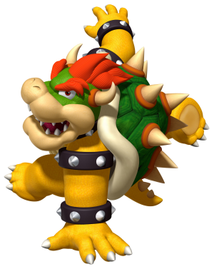 Bowser gets funky