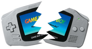 Broken Game Boy Advance