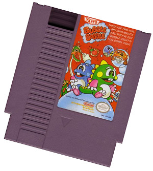Bubble Bobble game pak