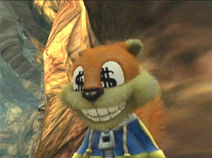 Conker loves a good deal
