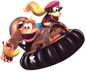 Dixie and Kiddy Kong