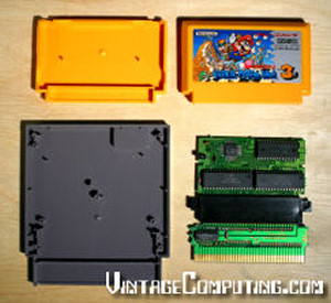 The Famicom conversion process